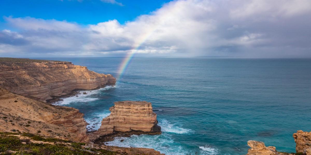 Island Rock Rainbow